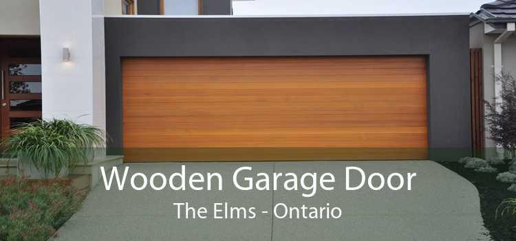 Wooden Garage Door The Elms - Ontario