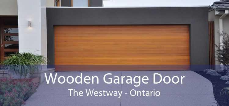 Wooden Garage Door The Westway - Ontario