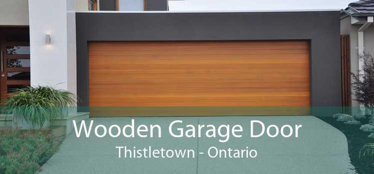 Wooden Garage Door Thistletown - Ontario