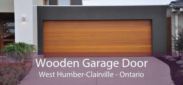 Wooden Garage Door West Humber-Clairville - Ontario